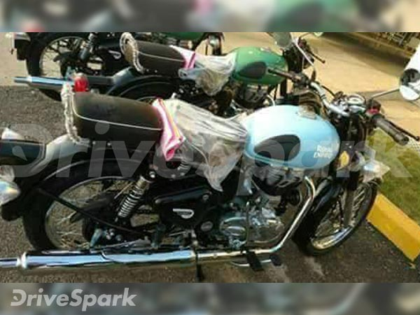 2017 Royal Enfield Classic With New Colours
