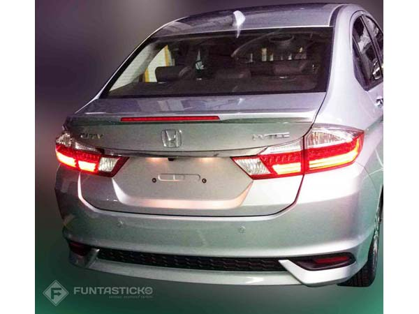 2017 Honda City Facelift Leaked Ahead Of Launch