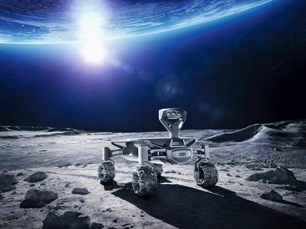 Audi's Lunar Quattro Is Ready To Roam The Moon