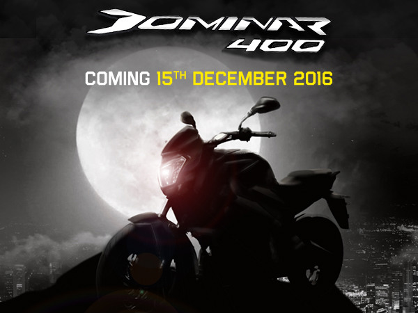 Bajaj Dominar 400 Microsite Goes Live; Launch Date Confirmed