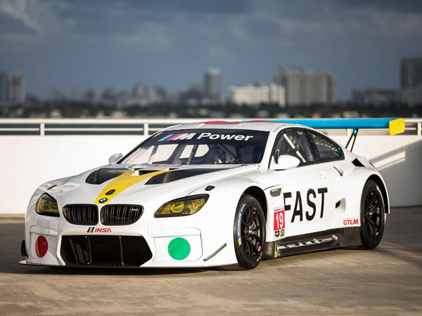 John Baldessari Designed BMW Art Car Debuts At Art Basel
