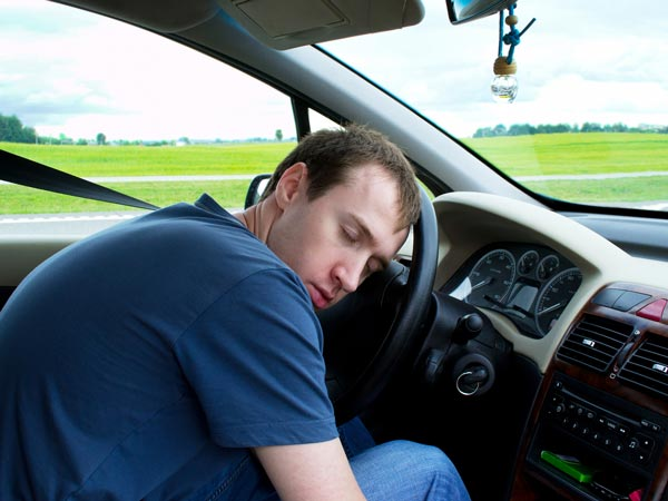 Drowsy Drivers As Good As Drunk Drivers: Study