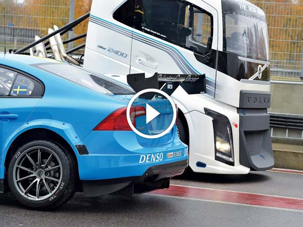 Epic Battle: Volvo Iron Knight Vs S60 Polestar TC1 Teaser