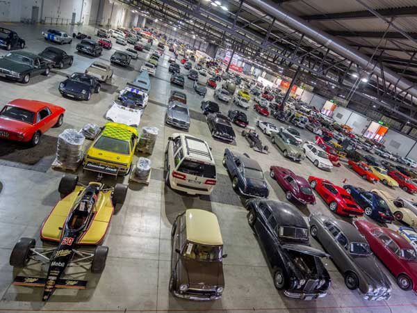 europe 39 s largest car collection sells for million at auction drivespark. Black Bedroom Furniture Sets. Home Design Ideas