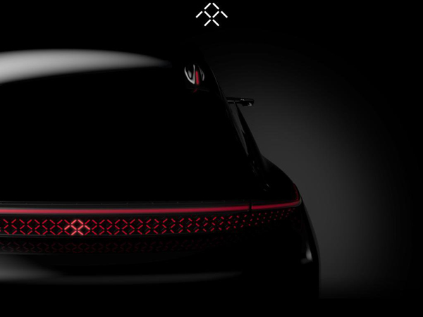 Faraday Future's New Teaser Reveals Retractable LiDAR