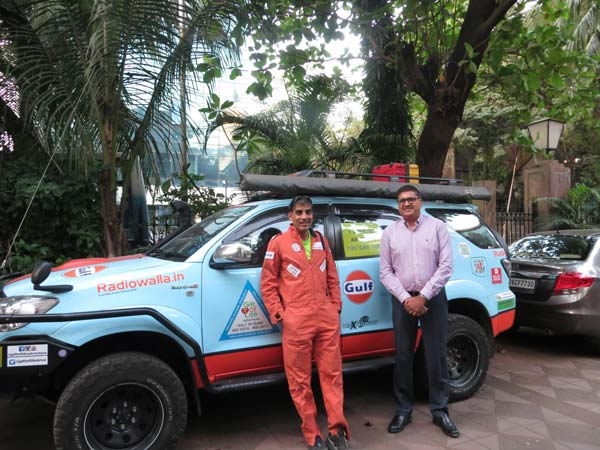 Gulf Oil Partners With 'Gift of Life Adventure' — A Drive From Italy To Bangalore