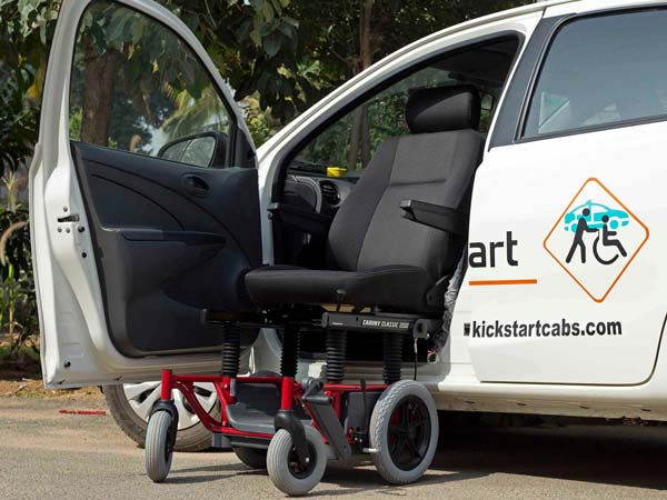 KickStart: A Cab Service In Bengaluru For People With Disabilities