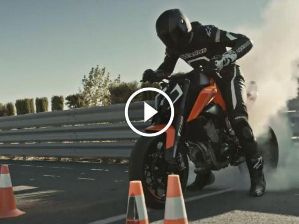 KTM Teases Brutal Duke 790 — Twin-Cylinder Precision