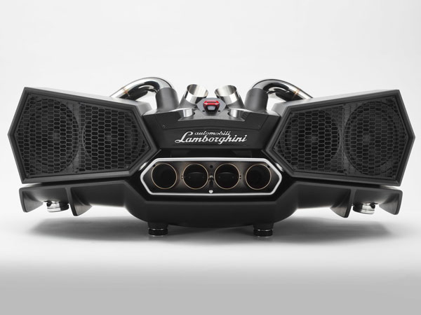 Lamborghini's New Carbon Fiber Speaker Costs More Than Your Average Sedan