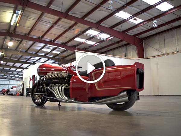 Video: Fancy A V12-Engined Motorcycle? Here's What It Looks Like