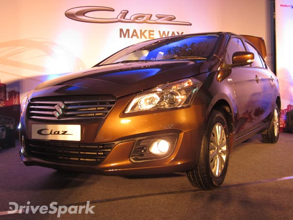 Updated Maruti Ciaz Sedan To Be Sold Exclusively At NEXA By March 2017