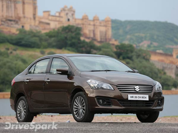 Maruti Ciaz Could Get More Powerful Diesel Engine As Part Of 2017 Update
