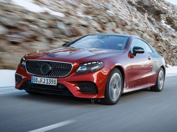 Mercedes Reveals The New E-Class Coupé — Gets A Hot AMG E50 Variant