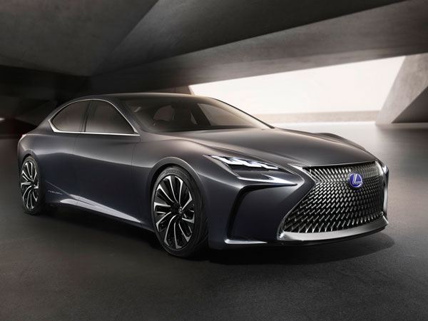 Next-Gen Lexus LS To Get Hydrogen Power
