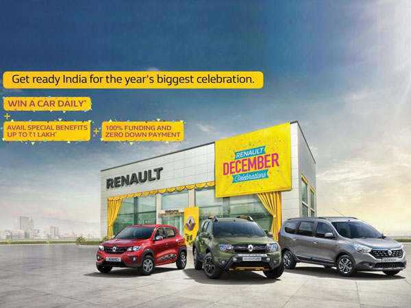 Renault India Introduces December Celebration Offer