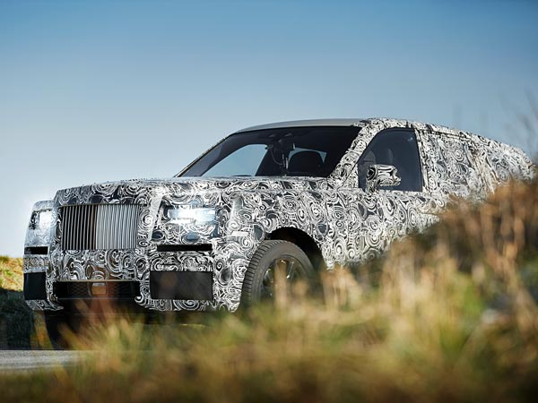 First Look: Rolls-Royce Project Cullinan SUV Prototype