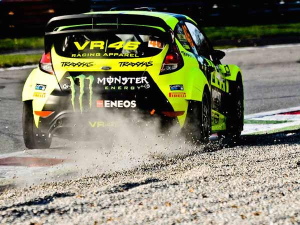 Monza Rally 2016: Valentino Rossi Takes On Dani Sordo