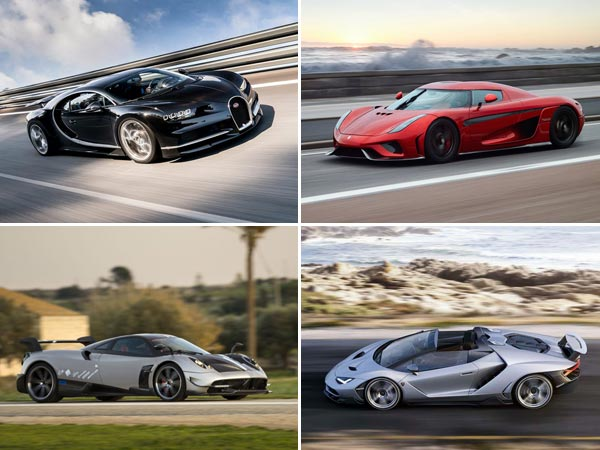 Top Most Powerful Production Cars Of DriveSpark News - Powerful sports cars