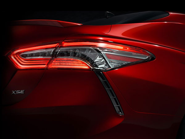 The First Glimpse Of The Edgier 2018 Toyota Camry