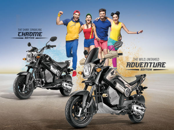Honda Navi Adventure And Chrome Edition To Be Available In India Soon
