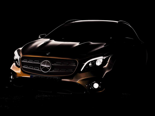 Mercedes GLA Facelift Teased Ahead Of Detroit Auto Show Debut