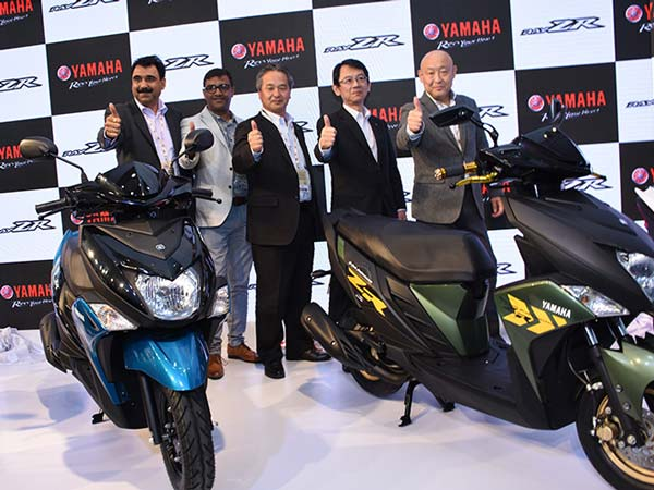 India Yamaha Motor Sales Up 32% In December 2016