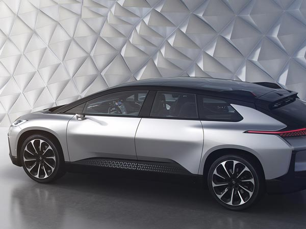 Faraday Future FF91 Electric SUV Unveiled At CES