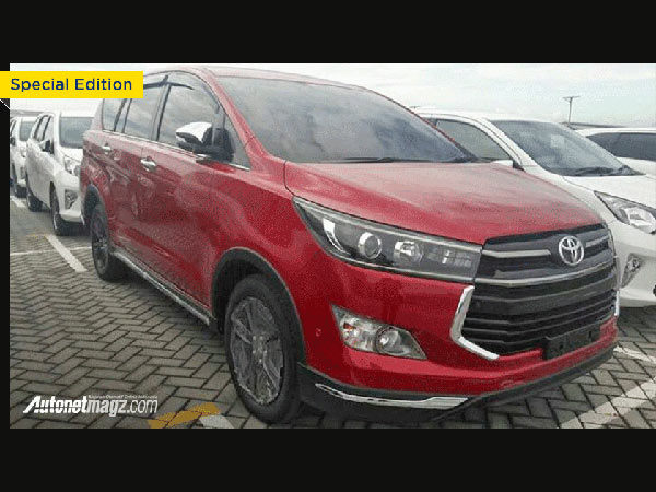 Toyota Innova Crysta Venturer Brochure Leaked Ahead Of Launch