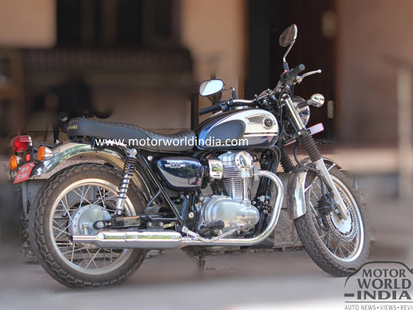 Kawasaki W800 Spotted Testing In India Launch Imminent