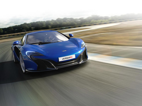 McLaren Previews Second-Generation Super Series Body Shell