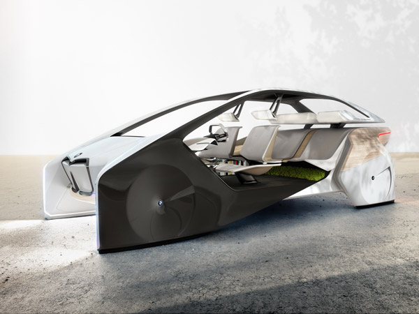 BMW i Inside Future Concept Revealed At CES 2017