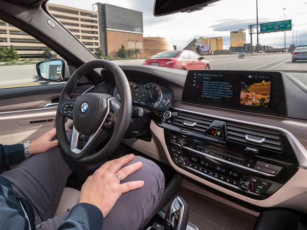CES 2017: BMW Showcases The New-Gen 5-Series With Self-Driving Technology