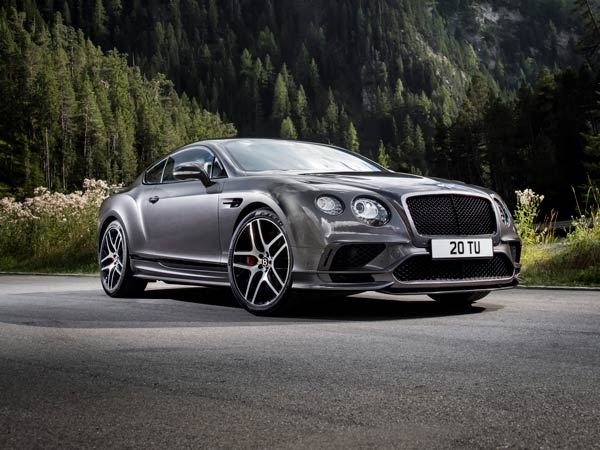 Bentley Continental Supersports Revealed