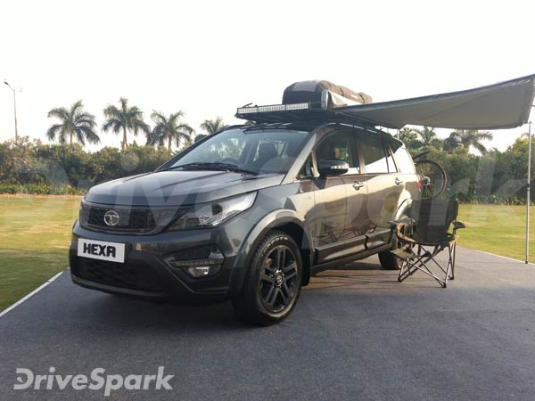 Tata Hexa To Be Offered With Three Customisable Body Kits