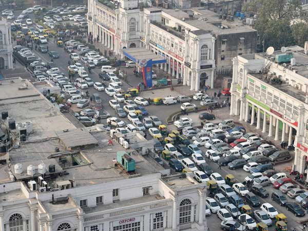 Come February Connaught Place To Be A Car Free Zone