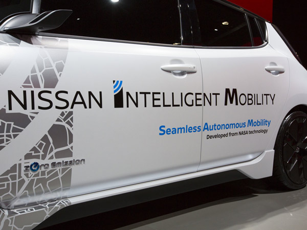 Nissan Announces Breakthrough Technologies At CES