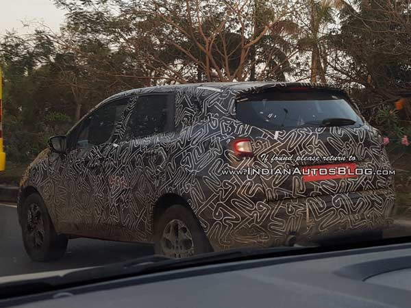 Renault Kaptur Spotted Testing Again On Indian Roads; Launch Imminent