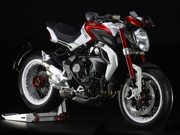 MV Agusta To Unveil Special Edition Dragster At Verona Motor Bike Expo