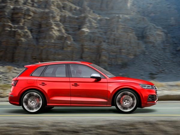 2017 Detroit Auto Show: Audi SQ5 Revealed