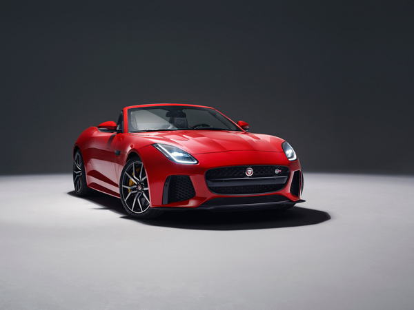 2017 Jaguar F-Type Launched With World-First Go-Pro Technology