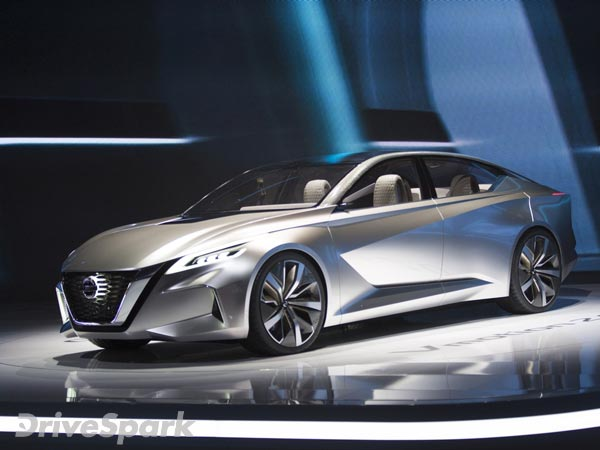 2017 Detroit Auto Show Nissan Vmotion 2 0 Concept Revealed