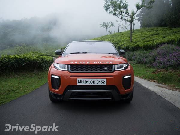 range rover evoque petrol launched in india priced at rs lakh drivespark news. Black Bedroom Furniture Sets. Home Design Ideas
