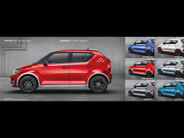 Maruti Suzuki Ignis Accessories List Drivespark News
