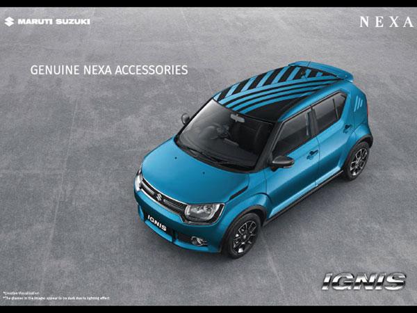 New Car Designs >> Maruti Suzuki Ignis Accessories List - DriveSpark News