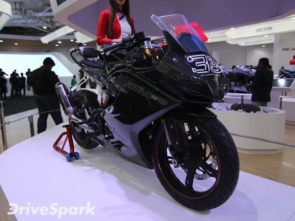 TVS Akula 310 India Launch By April 2017