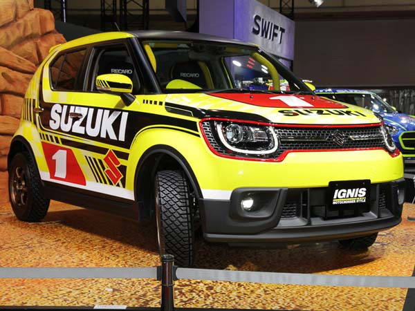 Suzuki Ignis Motocross Style Edition Debuts In Tokyo