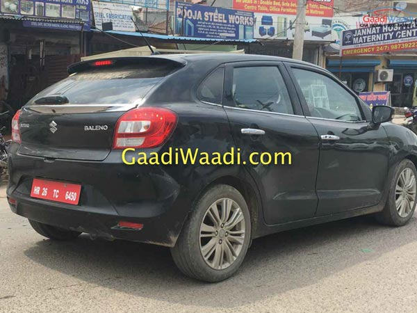 Maruti Suzuki Baleno RS To Launch In India Next Month; Images & Details