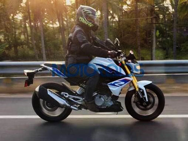 BMW G 310 R Spied Testing In India Ahead Of Launch