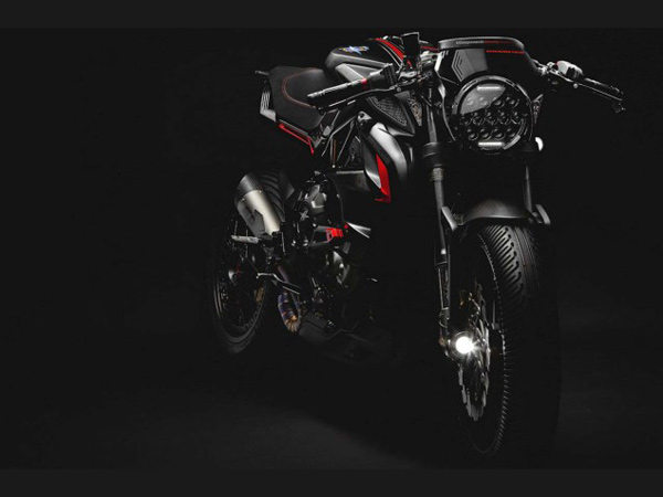MV Agusta Unveils Dragster 800 'Blackout' In Milan [Images]