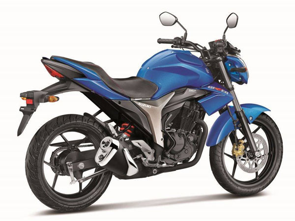 Suzuki Gixxer To Be Exported From India To Japan